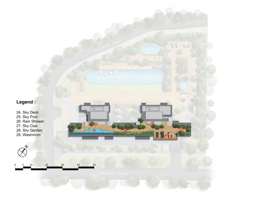 The Hyde Singapore Site Map